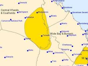 MORE RAIN COMING: Severe thunderstorm warning