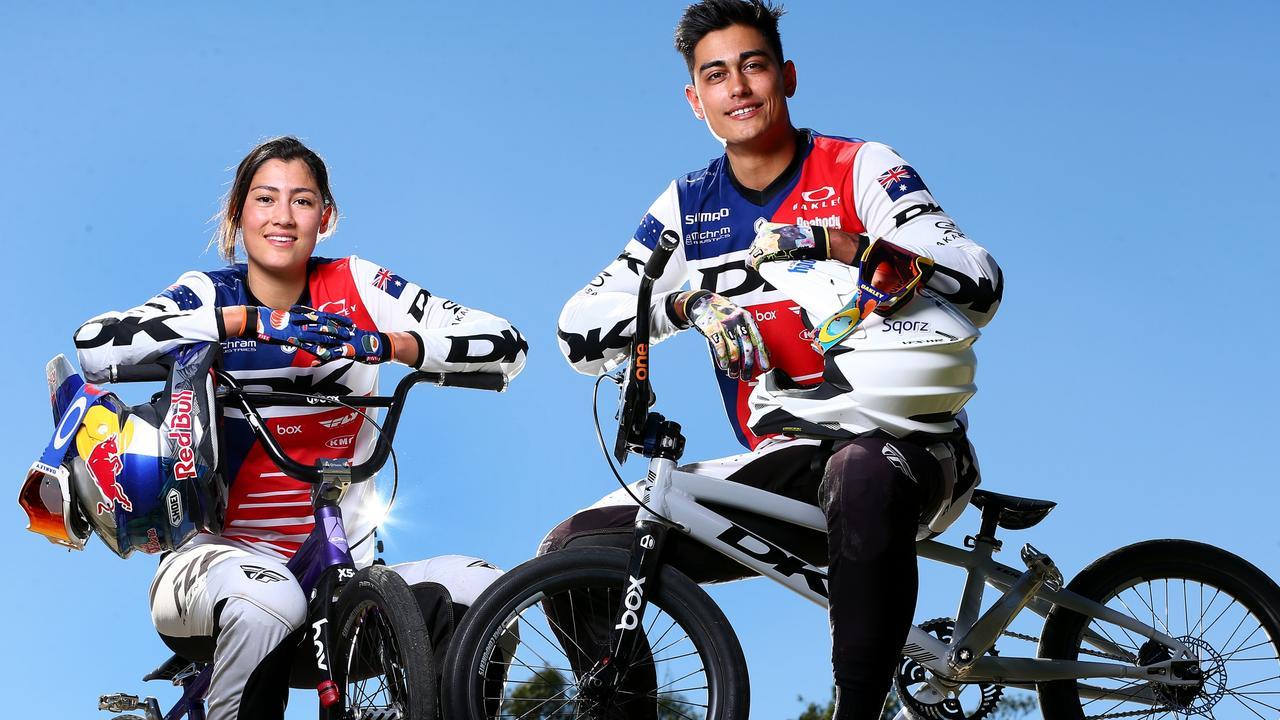 Kai Sakakibara and his sister Saya are both pushing for Aussie selection.