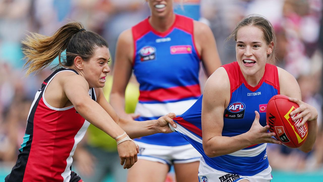 Isabel Huntington has had a luckless runs with knee injuries since being drafted at pick No.1.