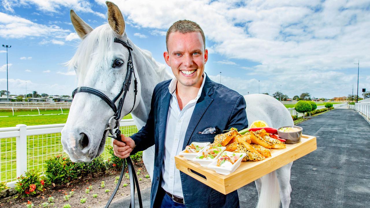 Chef Matt Sinclair. Photo: AAP Image/Richard Walker