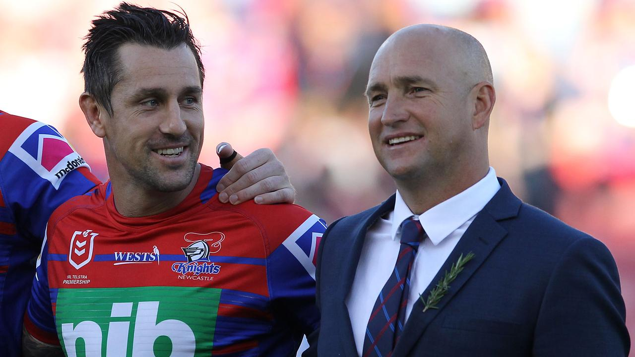 Pearce insists his relationship with Nathan brown 'was always good'.