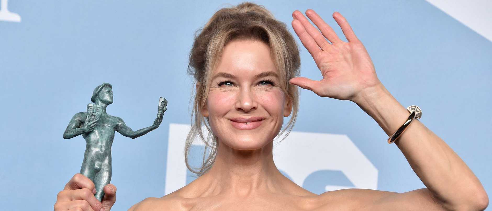 Winner? Renee Zellwegger is favourite to take the best actress Oscar. Picture: Gregg DeGuire/Getty Images