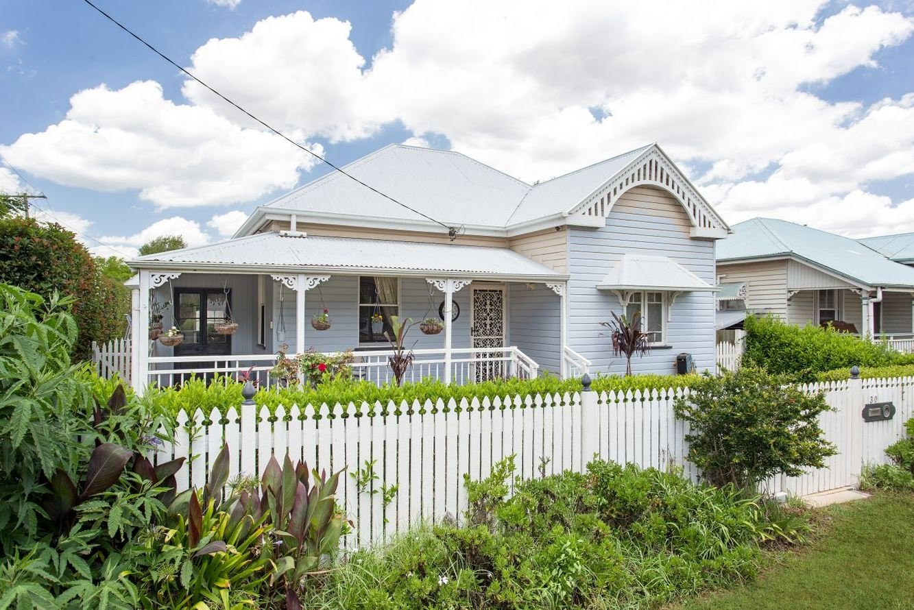 30 Dunmore St, East Toowoomba, is for sale.