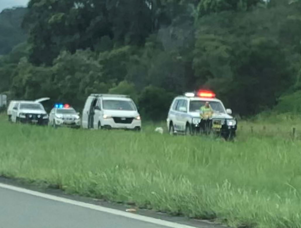A man has been killed in a truck accident in the Tweed.
