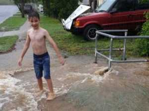Marge, the rains are 'ere: Huge falls recorded in CQ