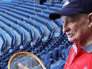 Laver's racquet sold at auction