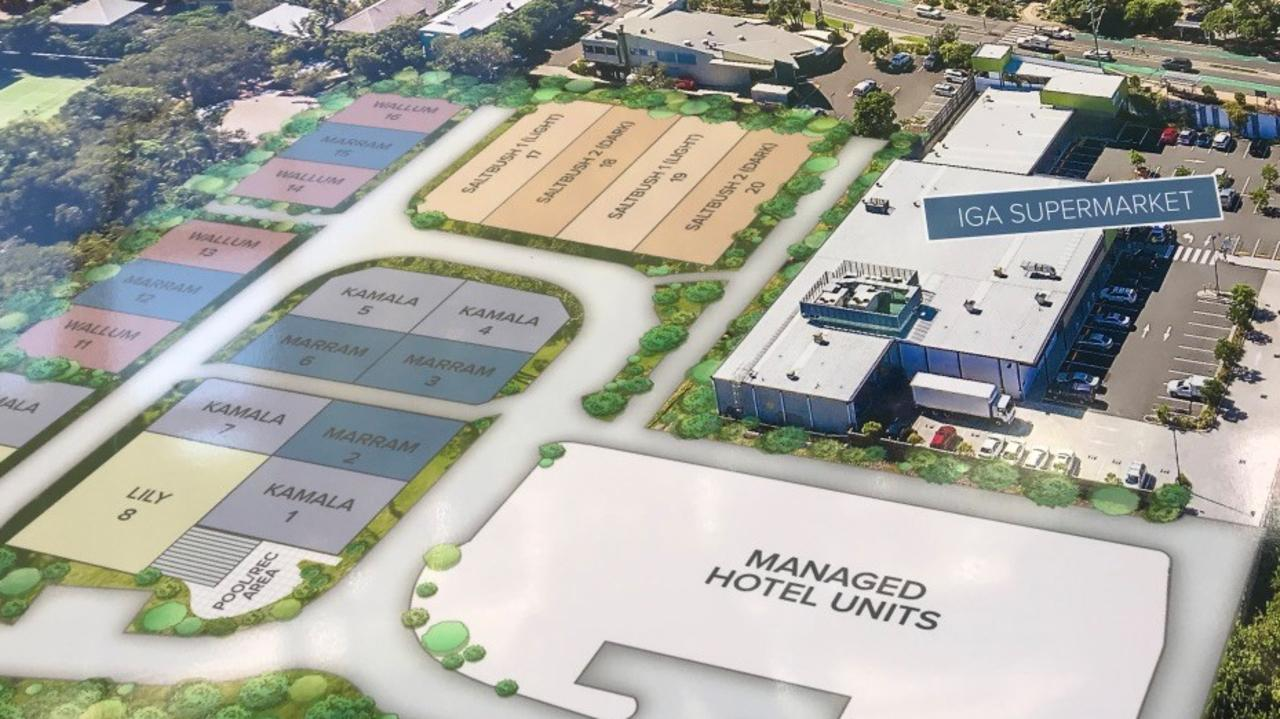 The proposed Peregian development that cost Noosa Council $1 million in legal costs.