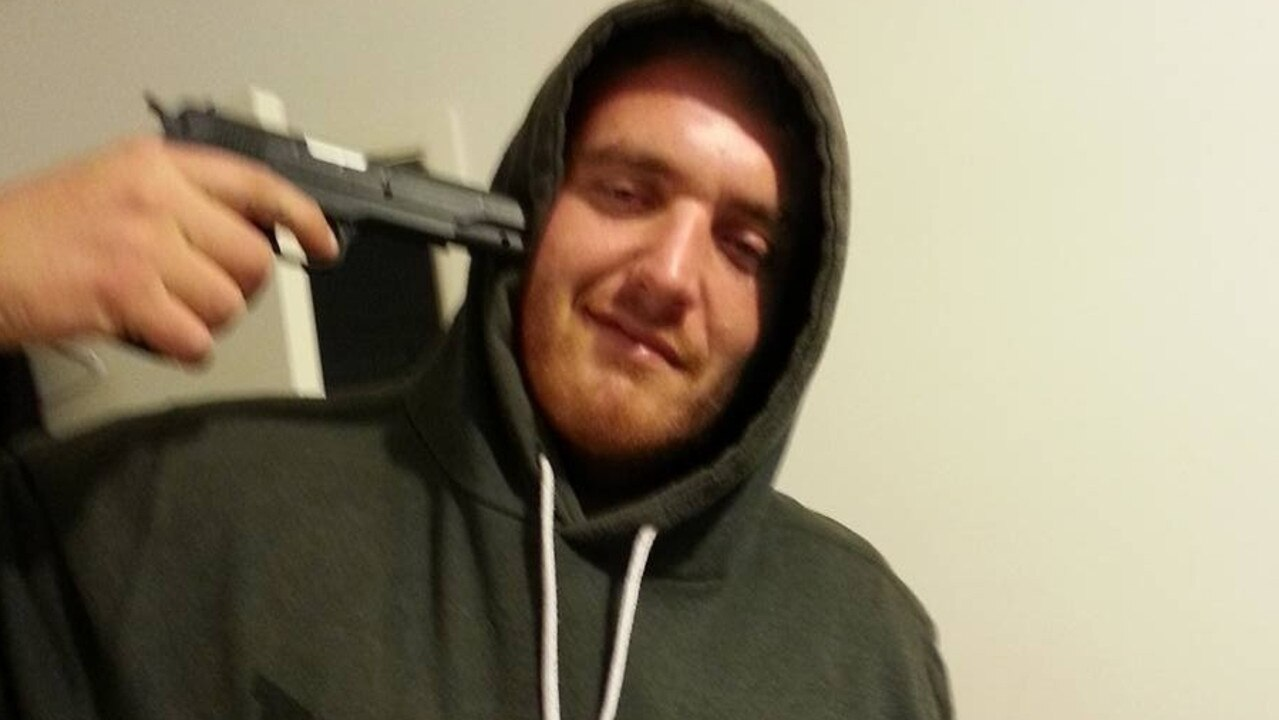 Daniel Christopher Schmidt was sentenced to four years' jail over the road attack. Picture: Facebook