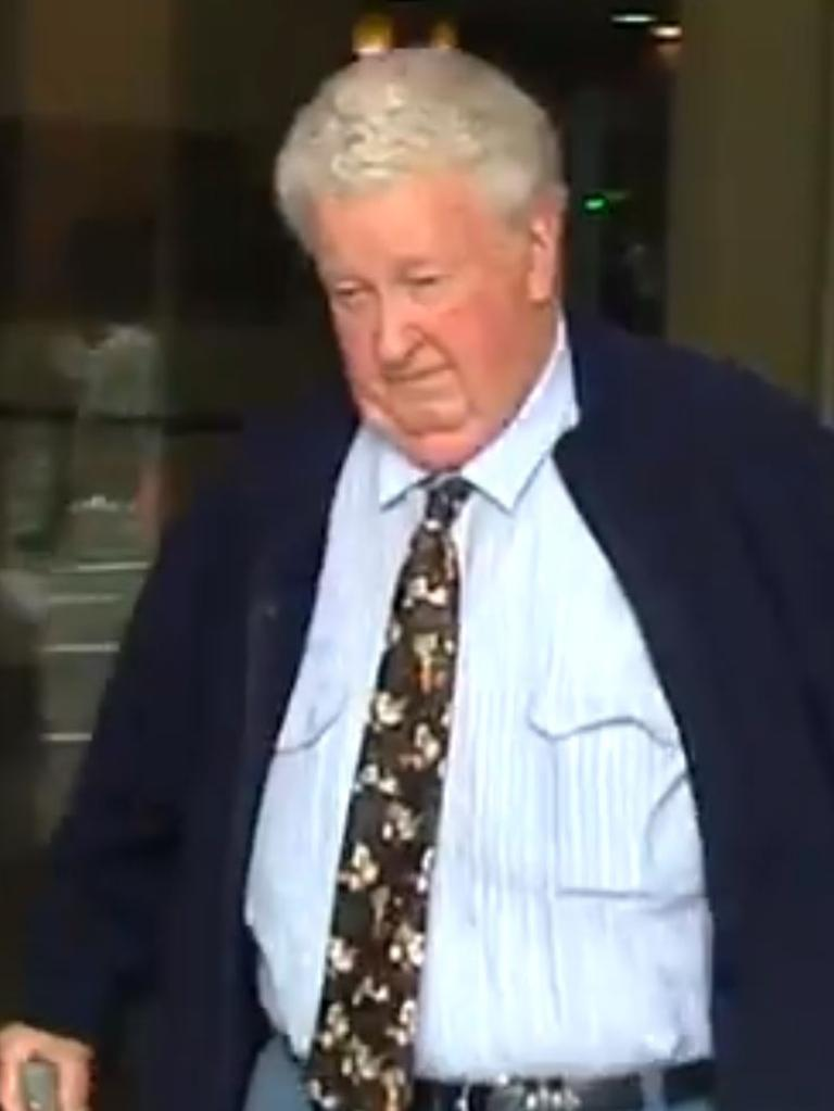 Victor Higgs outside court during an earlier appearance. Picture: 7 News