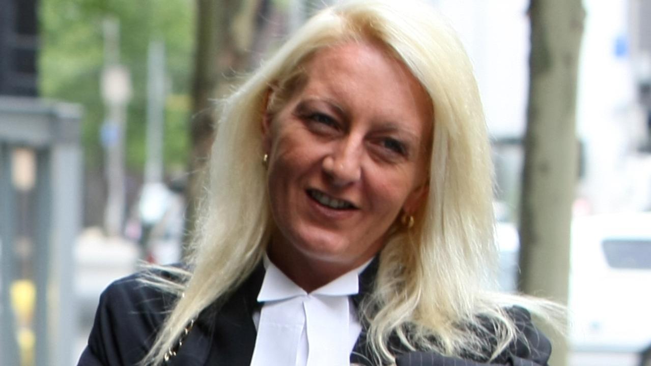 Nicola Gobbo leaving court.