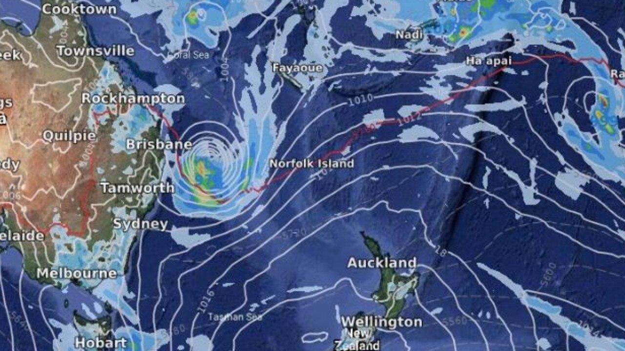 Cyclone Uesi.