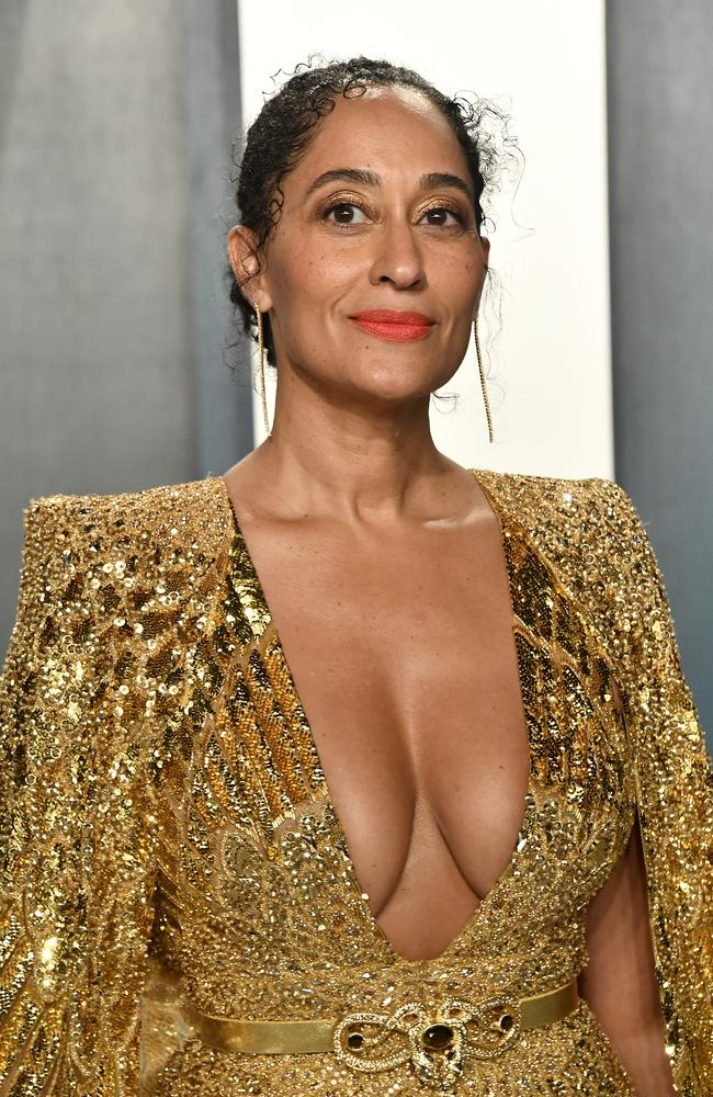 Tracee Ellis Ross attends the 2020 Vanity Fair Oscar Party. Picture: Getty