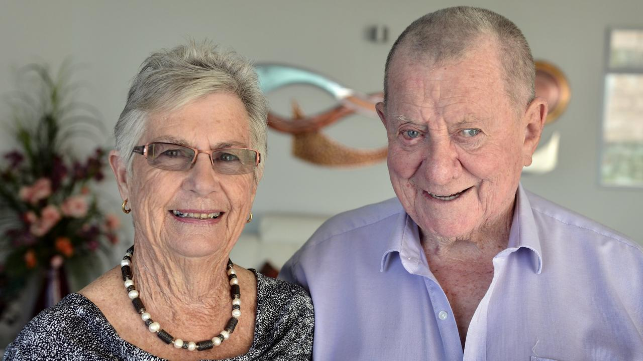 Roy and Nola Thompson. Photo: Patrick Woods