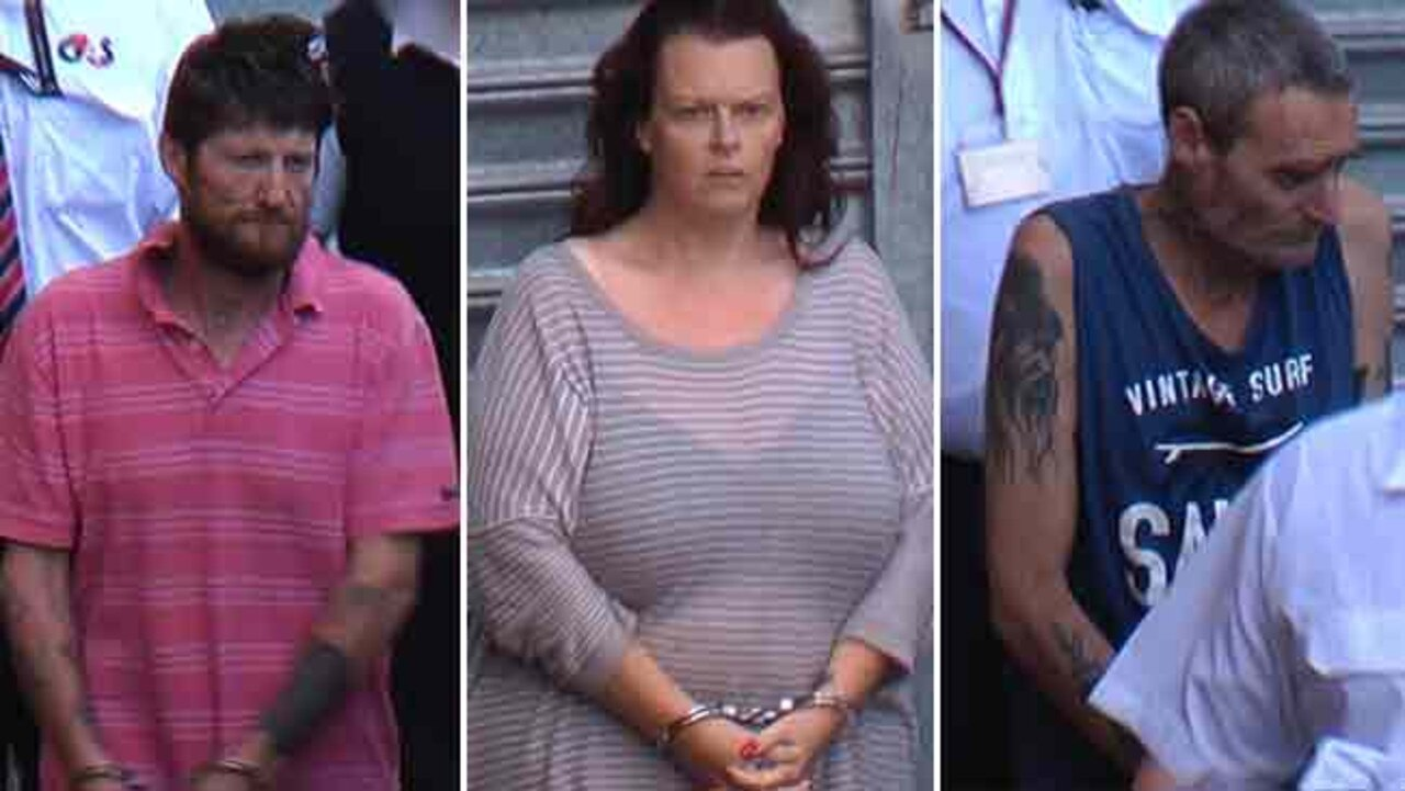 Gavin Scott Skinner, Tanya Hinrichsen and Robert John Thrupp are all accused of the murder of Steven Hinrichsen.
