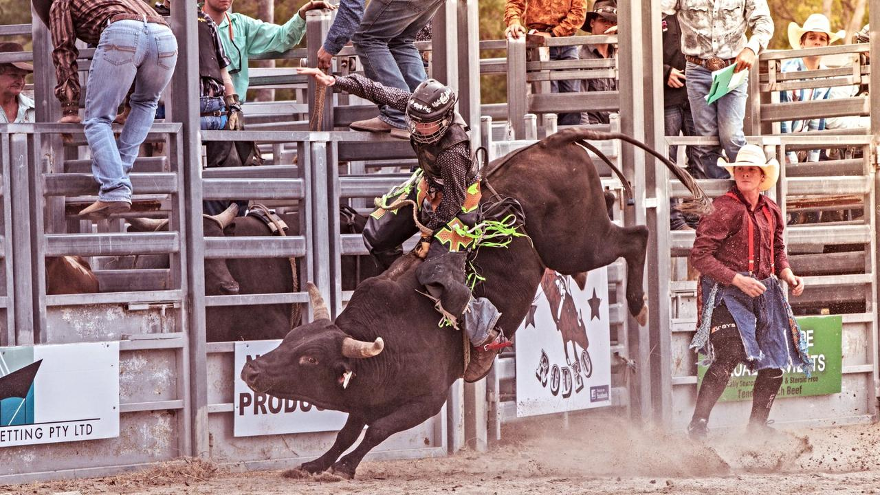 The Stockman's Arena will be full of action on March 7 as the Stanthorpe Rodeo returns. Picture: Robert Papa Photography