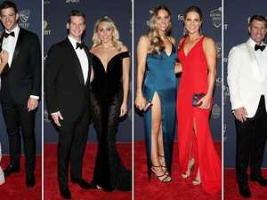 Warners steal show on cricket's red carpet