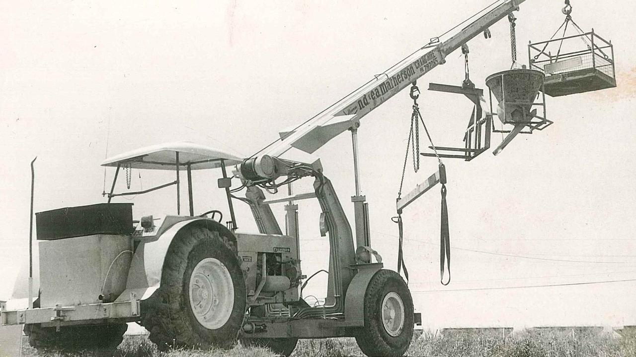 Original crane of Matherson Crane Hire