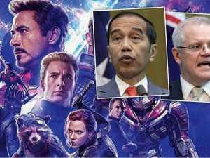 Widodo's bizarre Avengers link to Australia