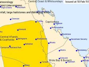 Severe thunderstorm warning for CQ