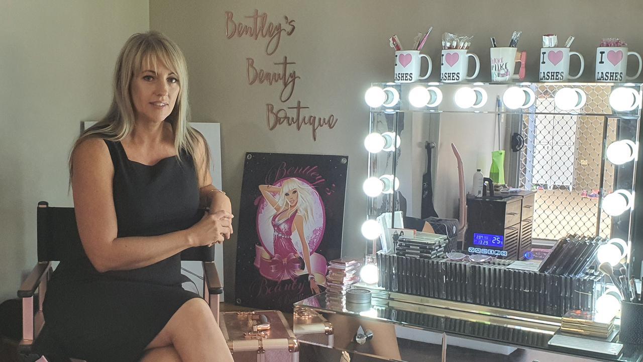 LASH QUEEN: Tia Bentley from Bentley's Beauty Boutique has been nominated for three categories in the international NALA industry awards.