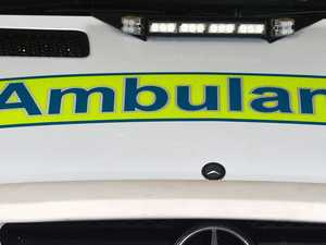 Woman in her 80s in hospital after northside crash