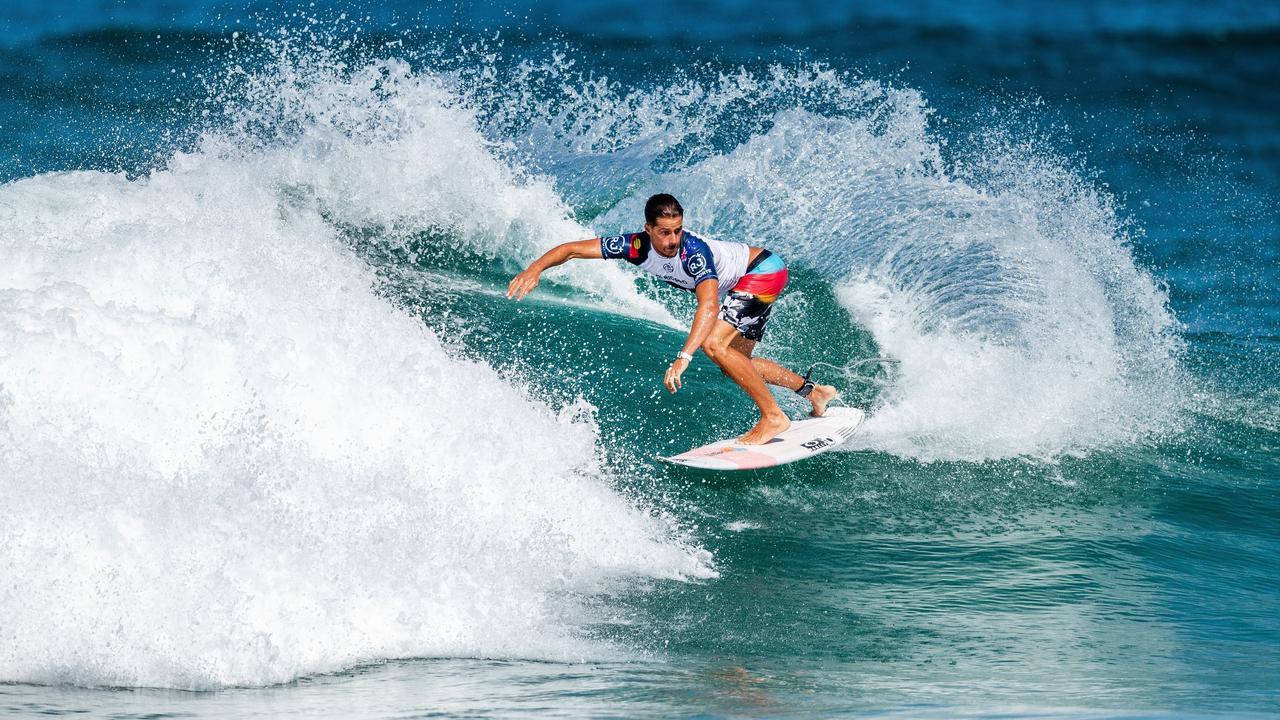 Soli Bailey will surf for Byron Bay in the Australian Boardriders Battle at Newcastle this weekend. Photo: Thiago Diz
