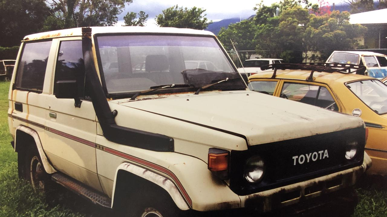 The Toyota LandCruiser belonging to Cairns man Marko Jekic, believed to have been murdered in 1989.