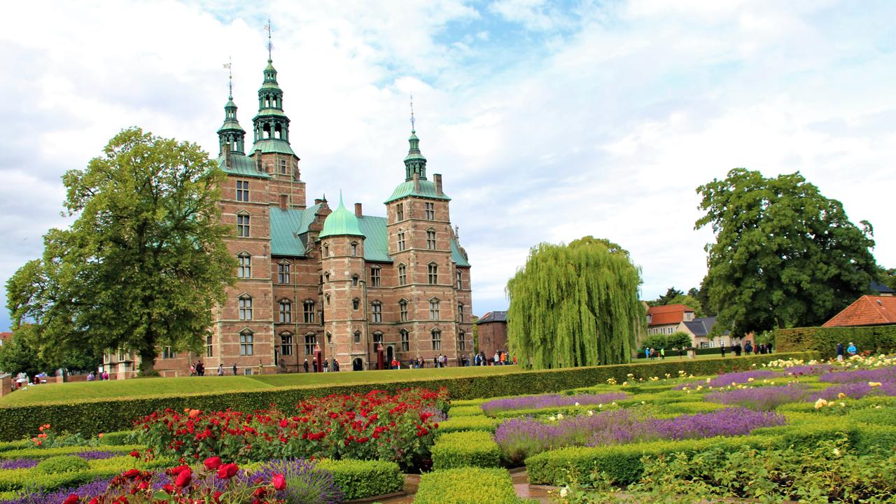 Rosenborg Castle and the King's Garden.