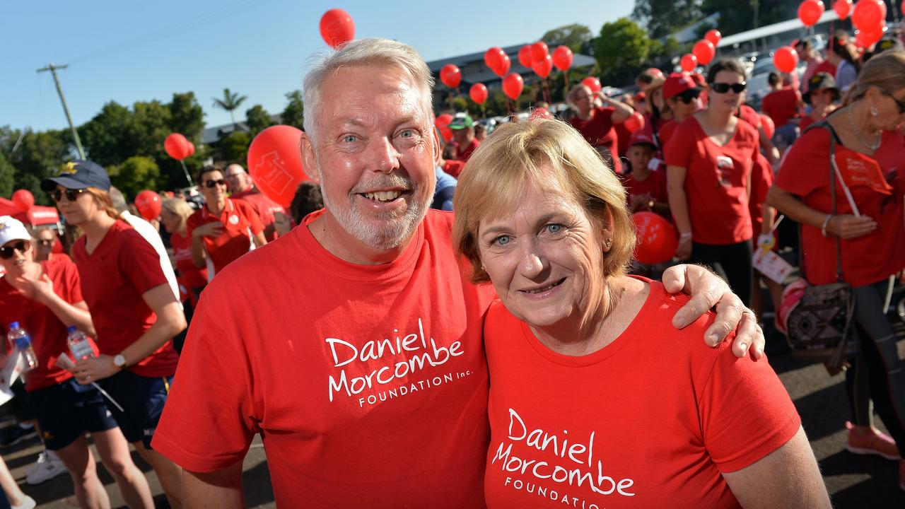 Bruce and Denise Morcombe. Photo: Patrick Woods