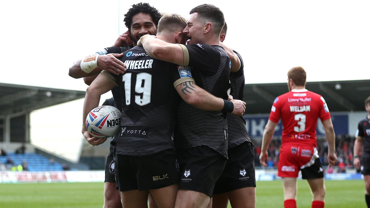 Toronto Wolfpack gave Salford a real scare.