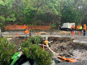 Sinkhole 'an accident waiting to happen'