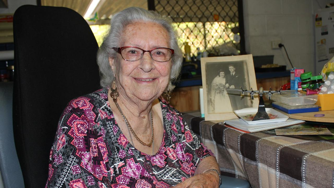 Jackie McLaughlin was a war bride who came to Australia from England in 1946.