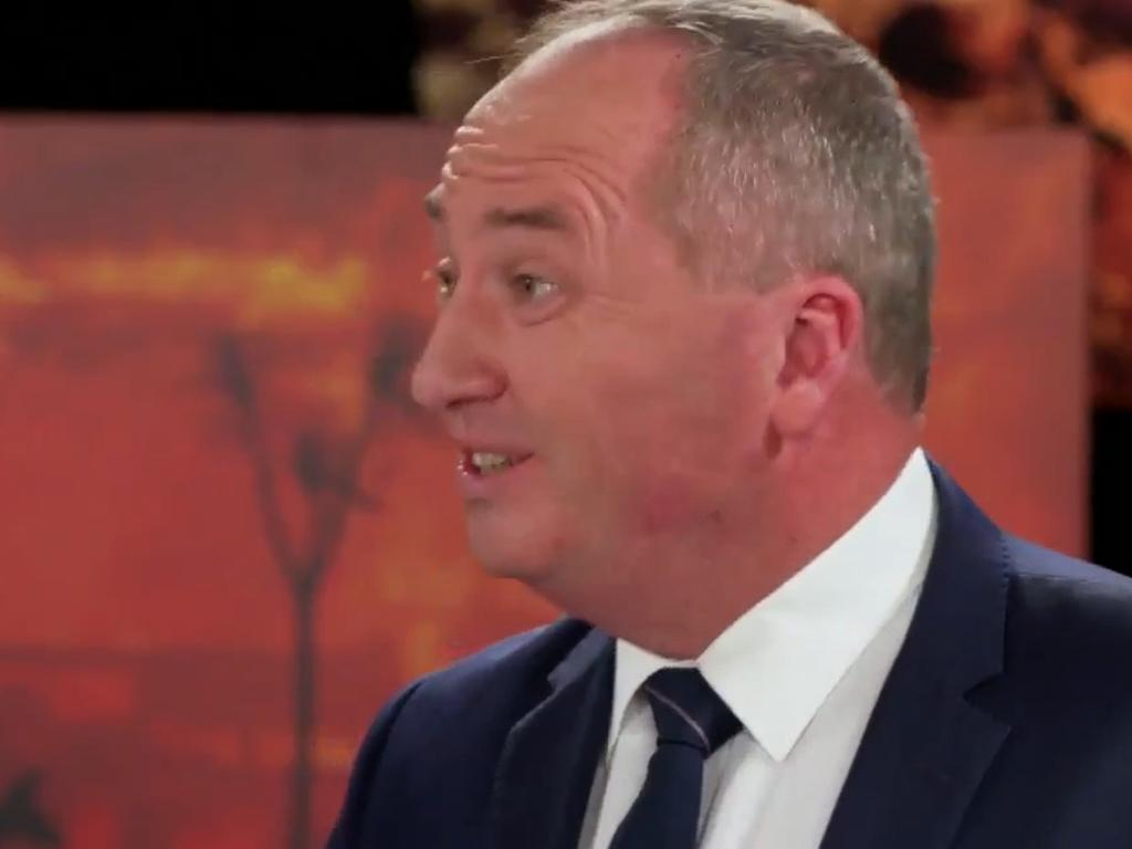 Barnaby Joyce spruiked the benefits of coal exports. Picture: 60 Minutes
