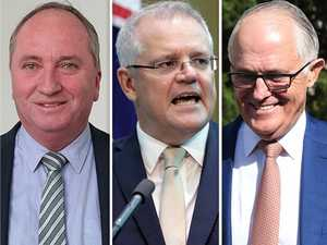 PM embarrassed by Turnbull, Joyce supporters