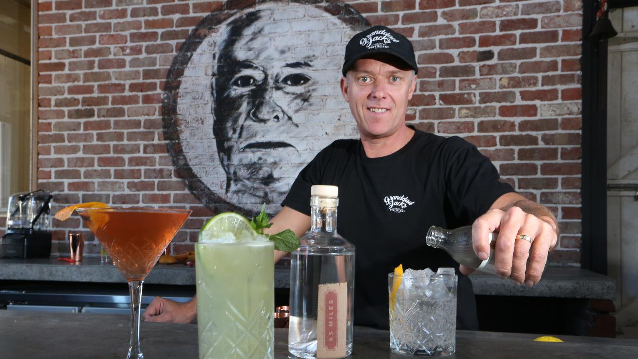 Granddad Jack's Distillery co-owner David Ridden has also tipped prices to soar. Picture: Glenn Hampson