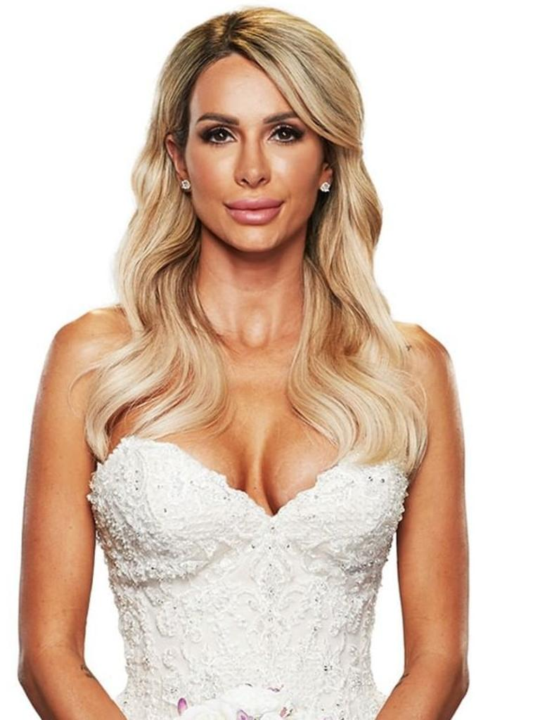 Stacey is one of the MAFS brides.
