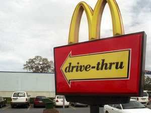 Driver cops $826 fine after Macca's run