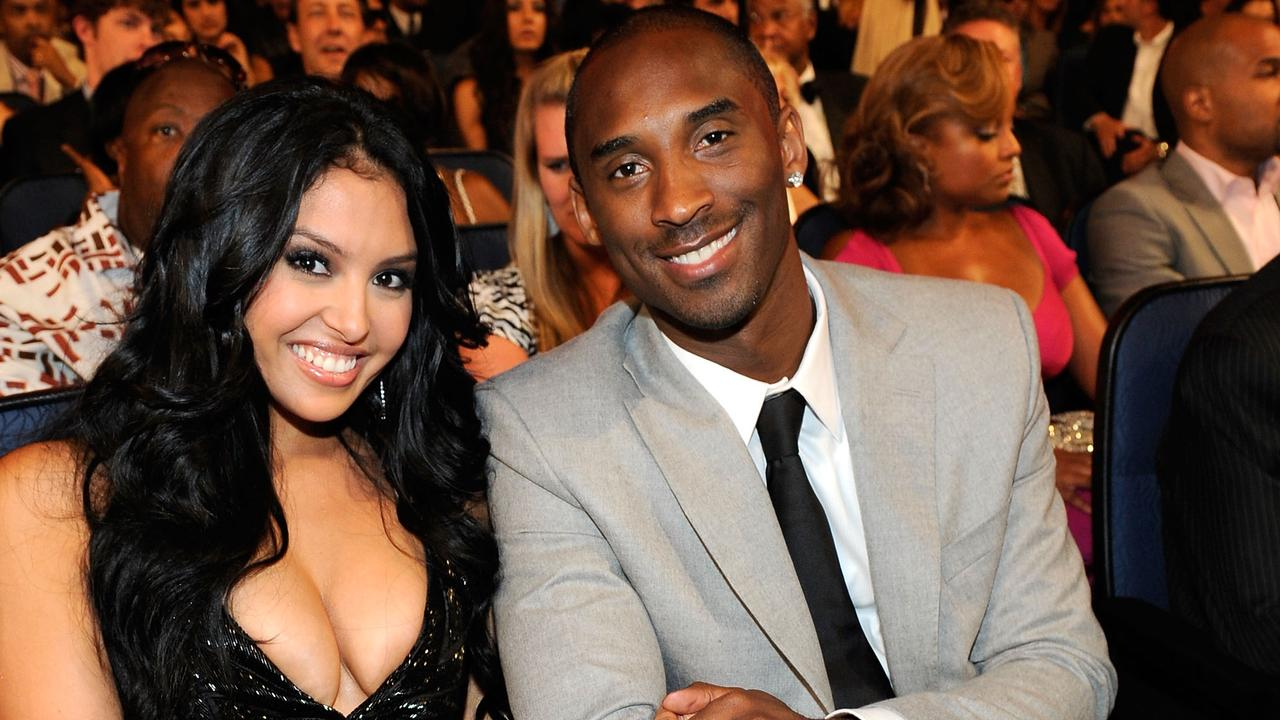Vanessa and Kobe Bryant at the 2009 Espy Awards. Picture: Kevork Djansezian/Getty
