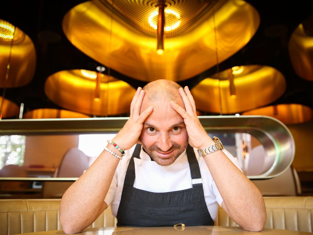It took 13 years for George Calombaris to build his hospitality empire. He lost everything in six months. Picture: Nicole Cleary