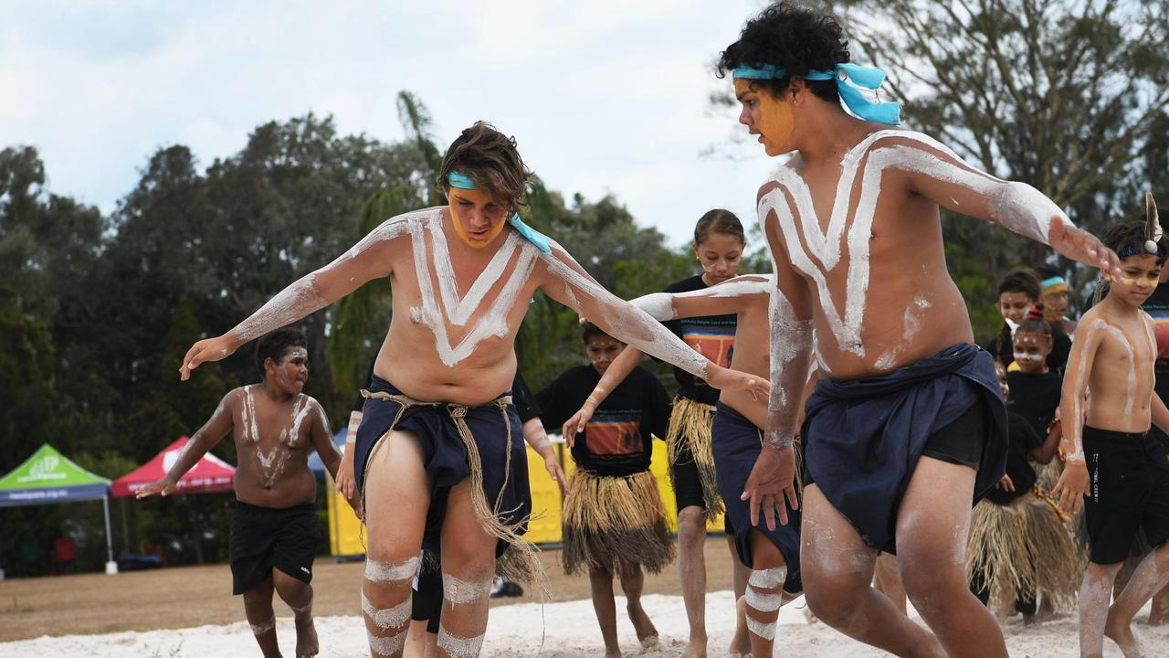 Native Title Agreement - Butchulla Dancers. Photo: Cody Fox