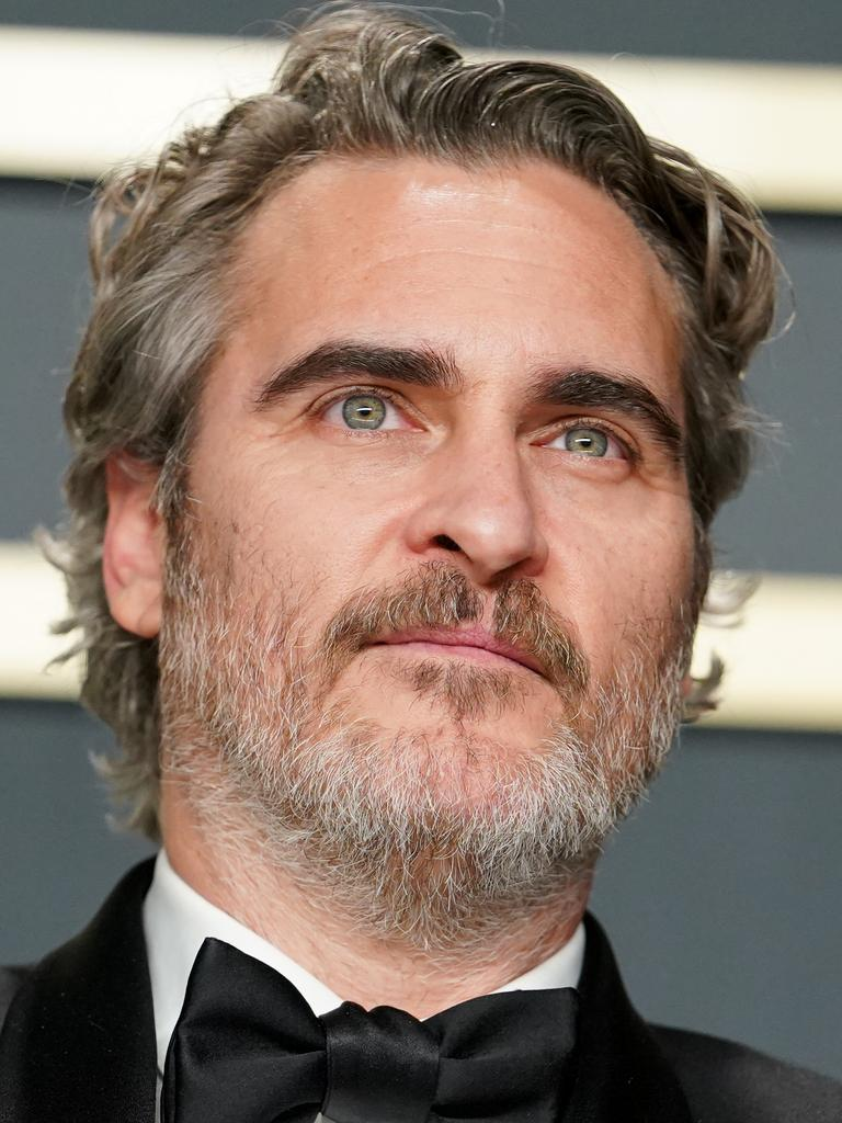 Joaquin Phoenix took out the Oscar for Actor in a Leading Role. Picture: Getty Images.