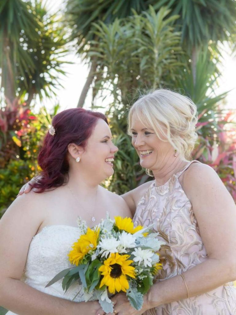 Lucy-Ann Simpson with her mum Jen Dray. Picture: Olsson Photography.