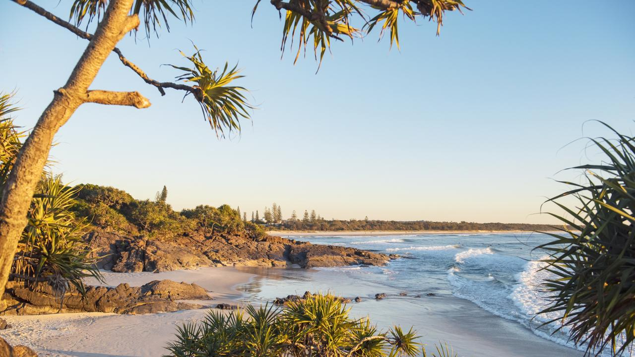 Cabarita Beach was named Australia's best beach for 2020 by Tourism Australia. Picture: Trevor Worden.