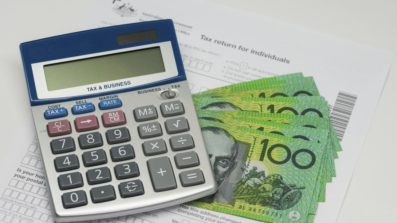 A local tradie has been hit with a $20,000 after failing to lodge income tax returns over eight years.