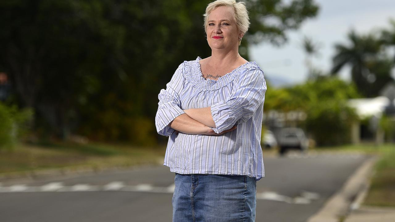 Julianne Wood has organised a rally against crime in Townsville due to a recent spike. PICTURE: MATT TAYLOR.