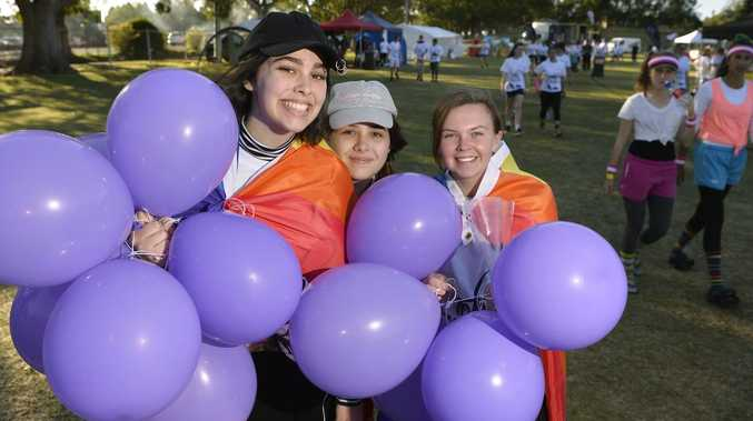 Why you'll be seeing a lot of purple in Lismore next week
