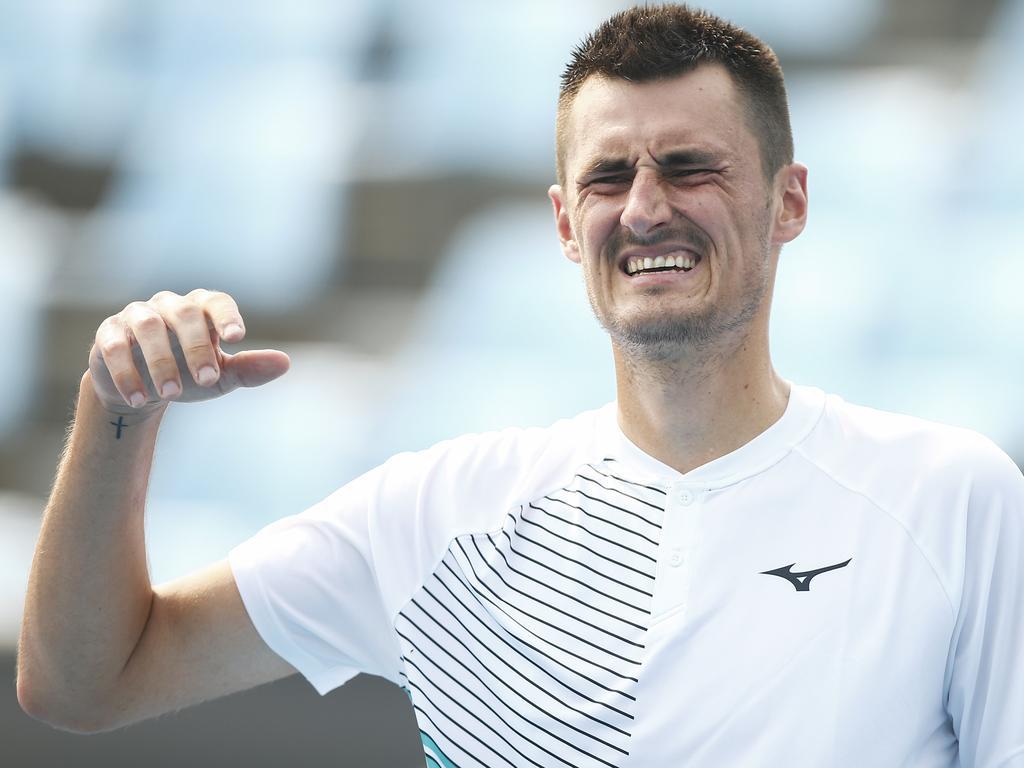 Bernard Tomic hasn't qualified for a Grand Slam quarterfinal in nine years.