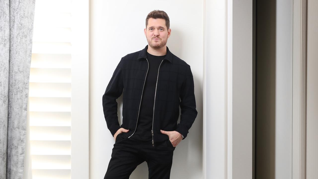 Singer Michael Buble is in Australia touring and will play the Fire Fight bushfire benefit concert.
