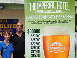 Full-bodied fundraiser boosts bushfire appeal