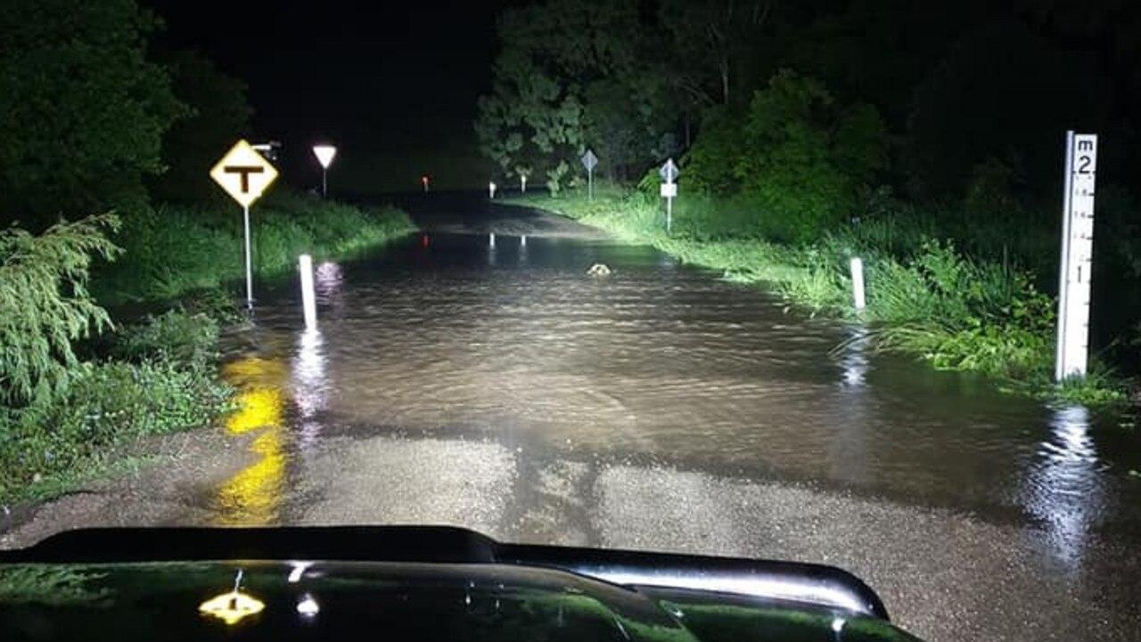 Sarah Fleetwood's road/creek this morning February 11, 2020